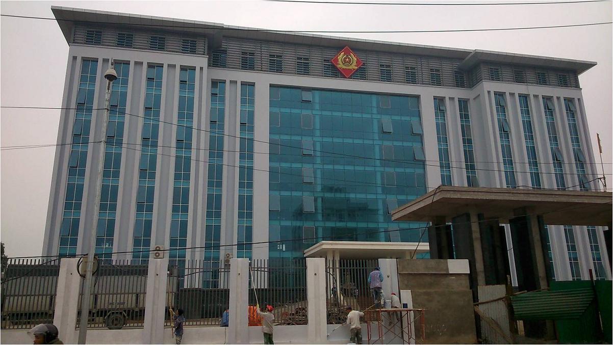 Cơ sở làm việc khối cảnh sát Công an tỉnh Bắc Giang