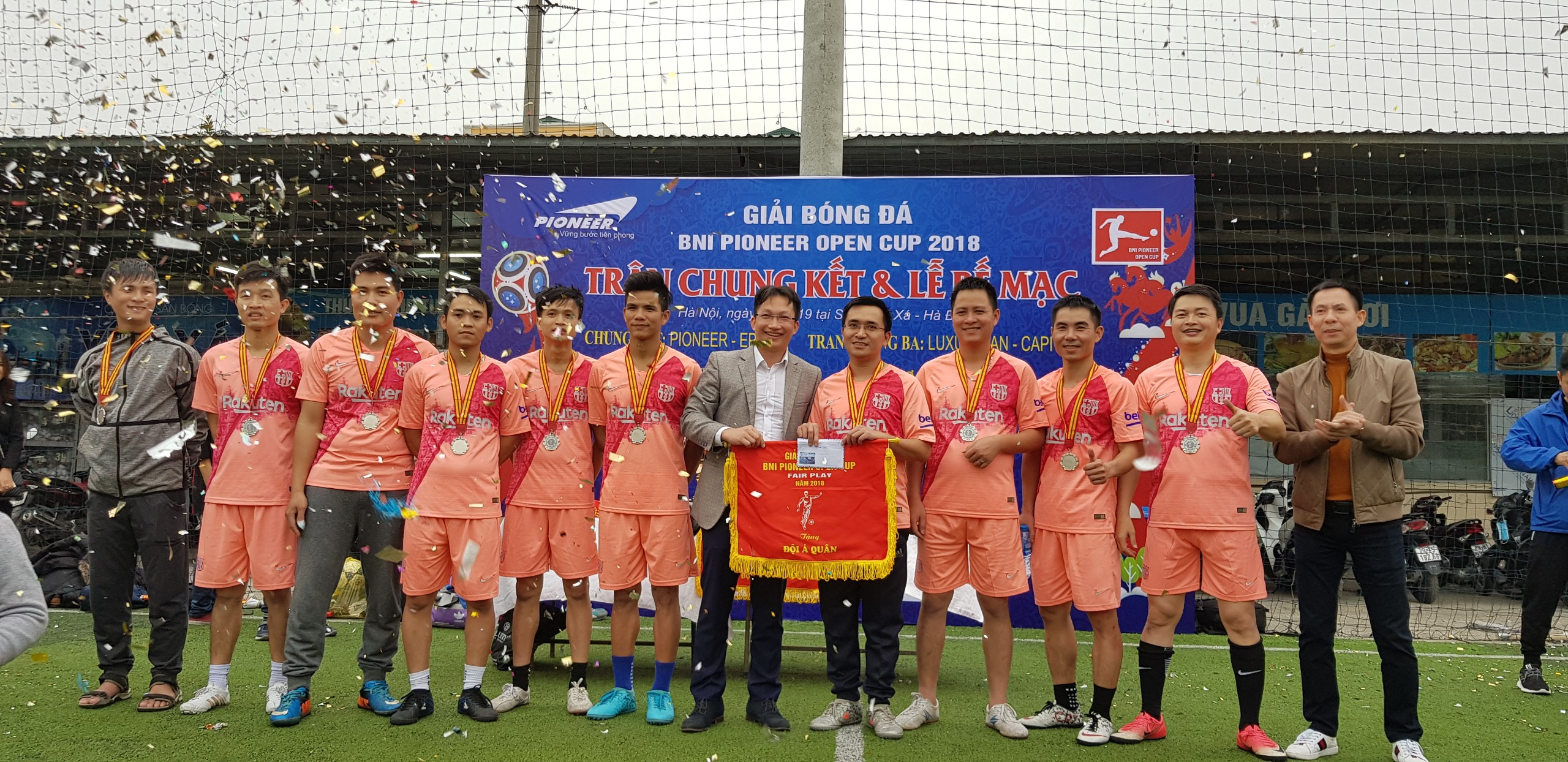 Chung kết BNI Pioneer Open Cup 2018