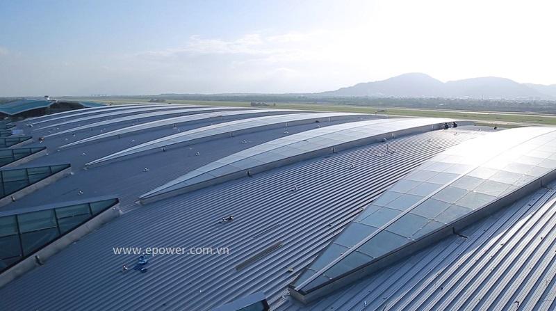 Mái sân bay quốc tế Đà Nẵng