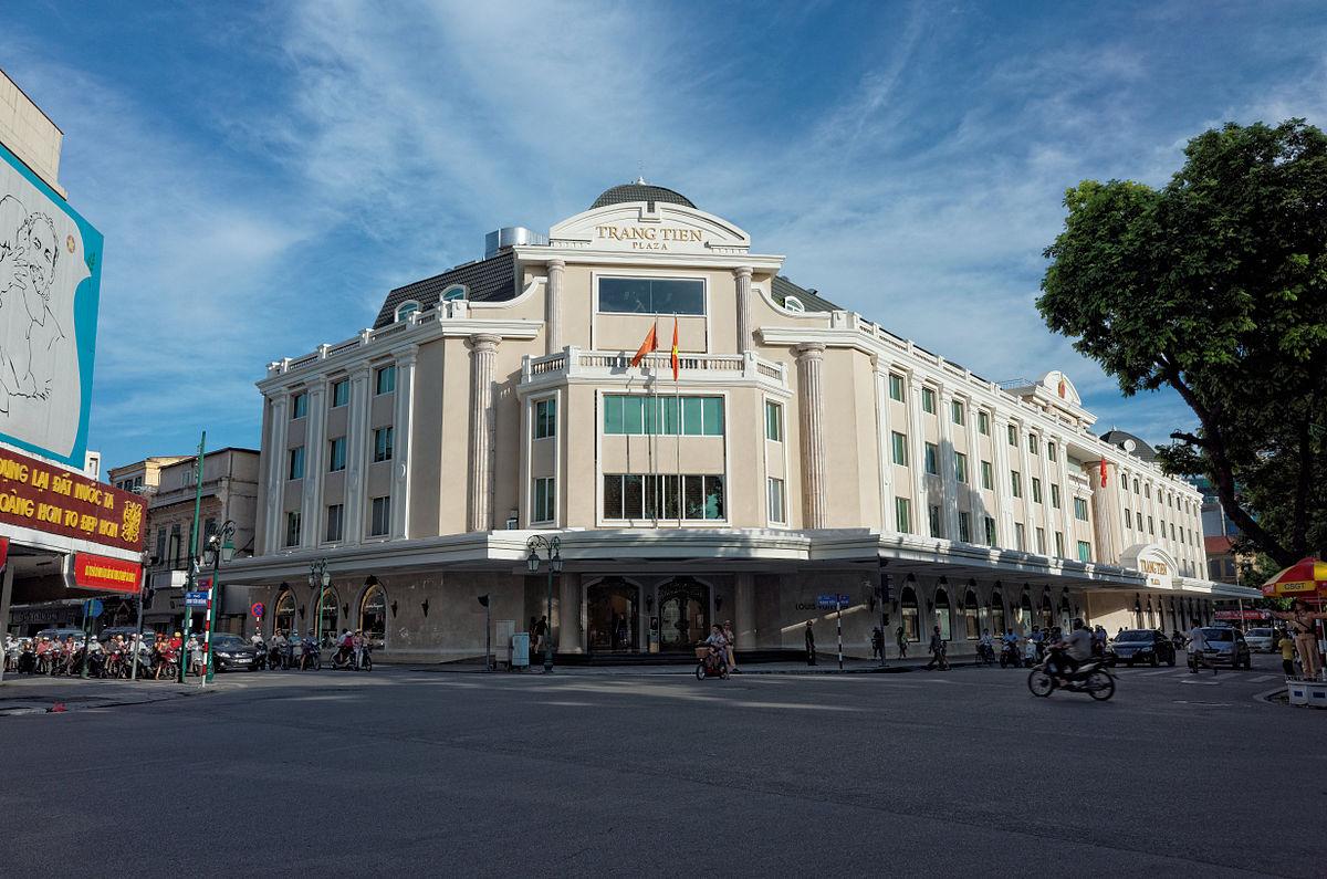 Trung tâm thương mại Tràng Tiền Plaza