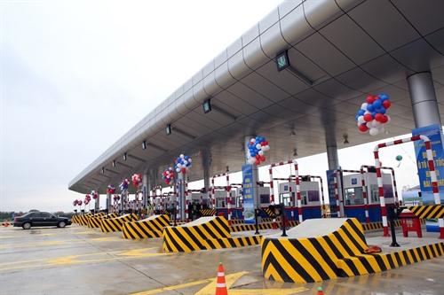 Trạm thu phí tuyến đầu Cao tốc Hà Nội - Hải Phòng