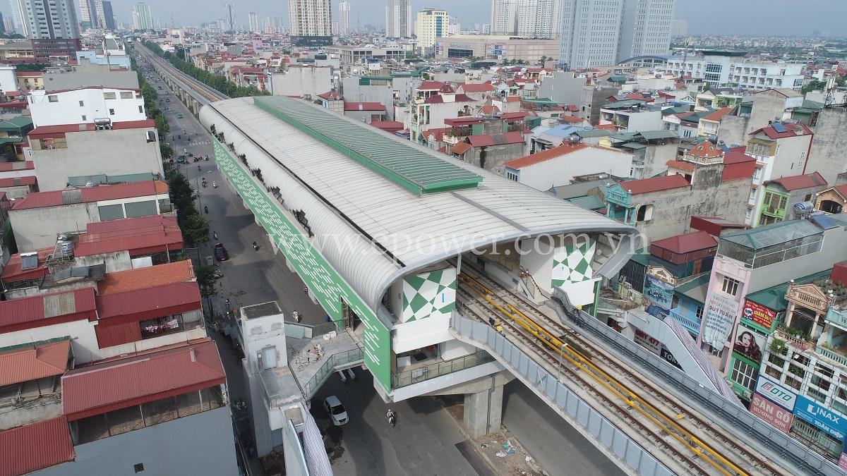 Tuyến đường sắt trên cao Cát Linh Hà Đông