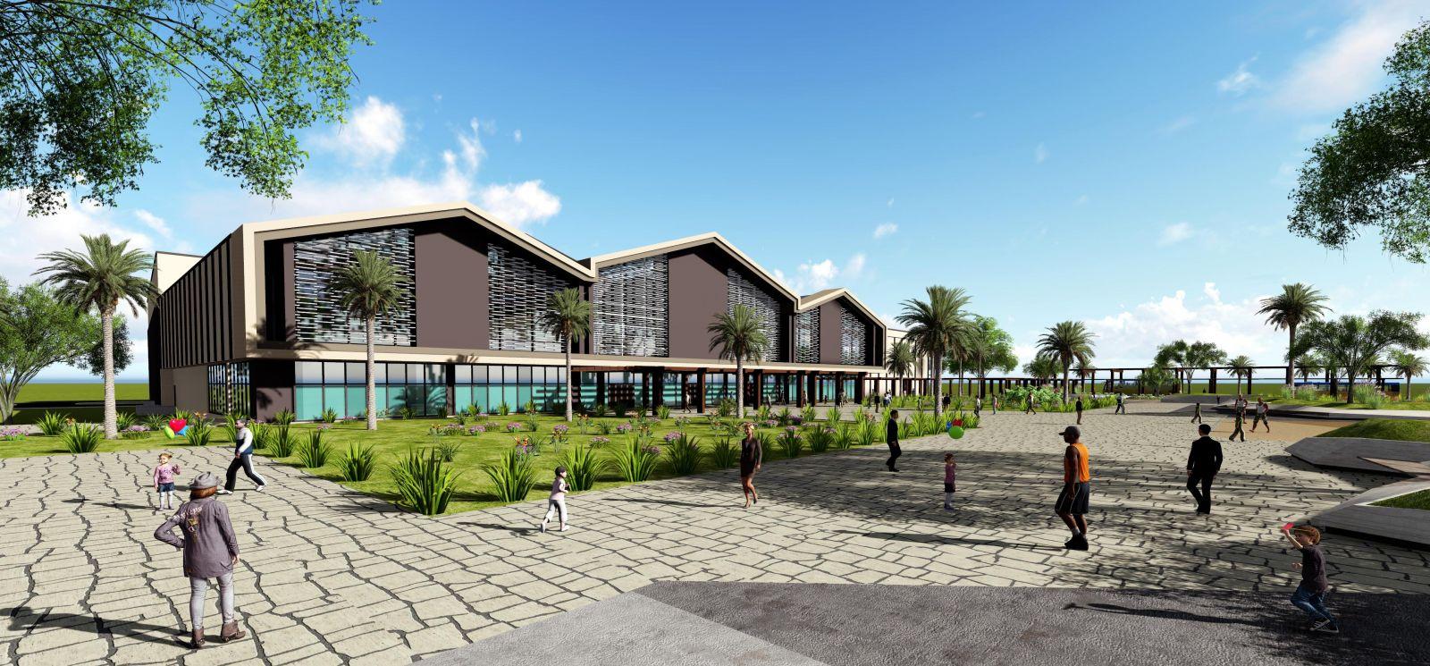 Dự án Nhà Ga cáp treo tuyến Cát Hải- Phù Long