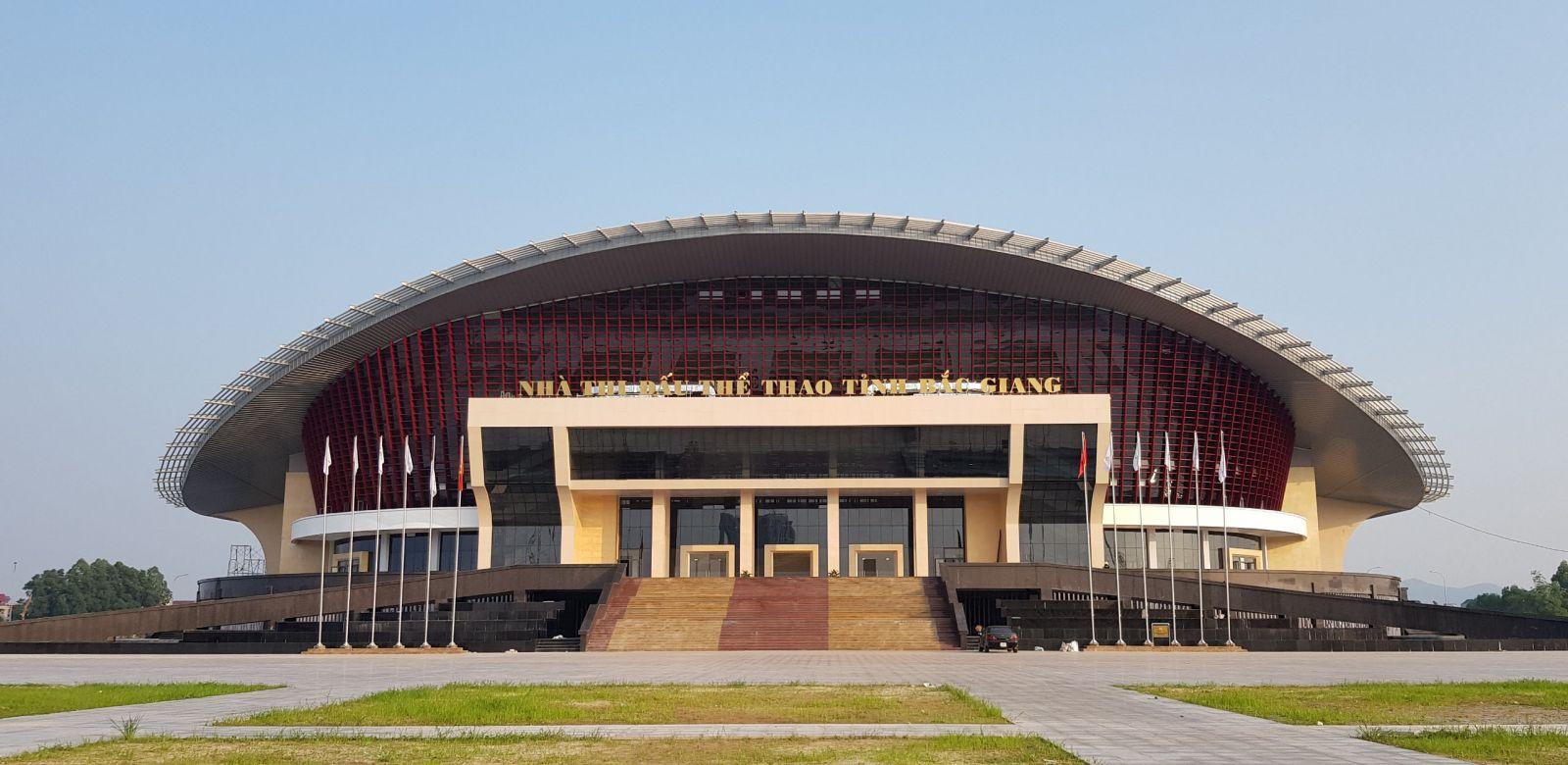 Nhà thi đấu Bắc Giang