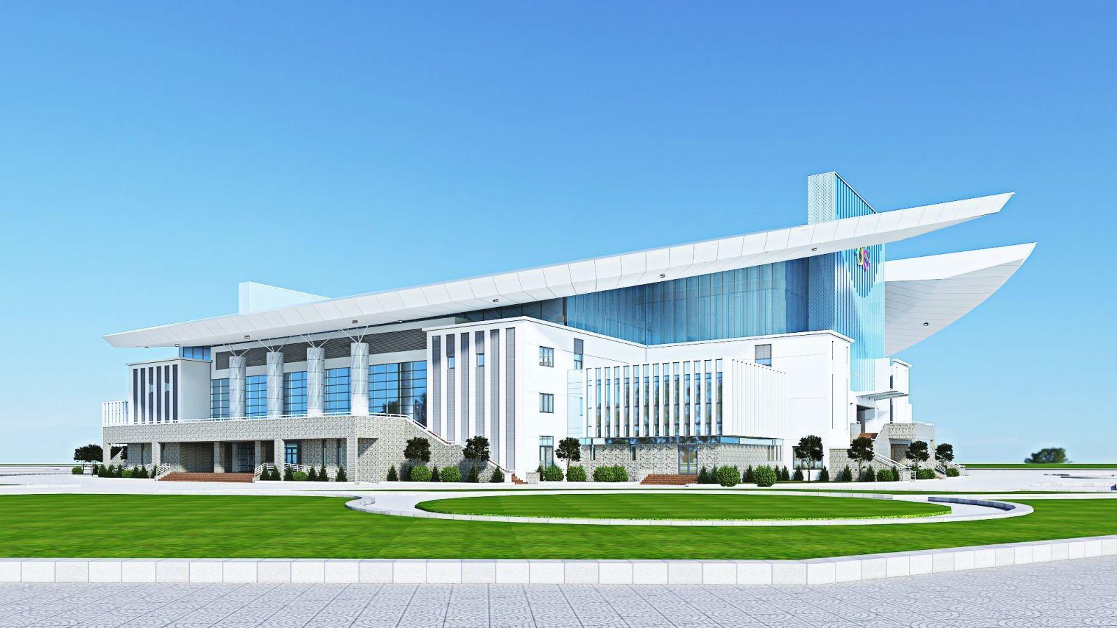 Dự án Khu cây xanh Thể dục Thể thao huyện Đông Anh – Hạng mục nhà thi đấu.
