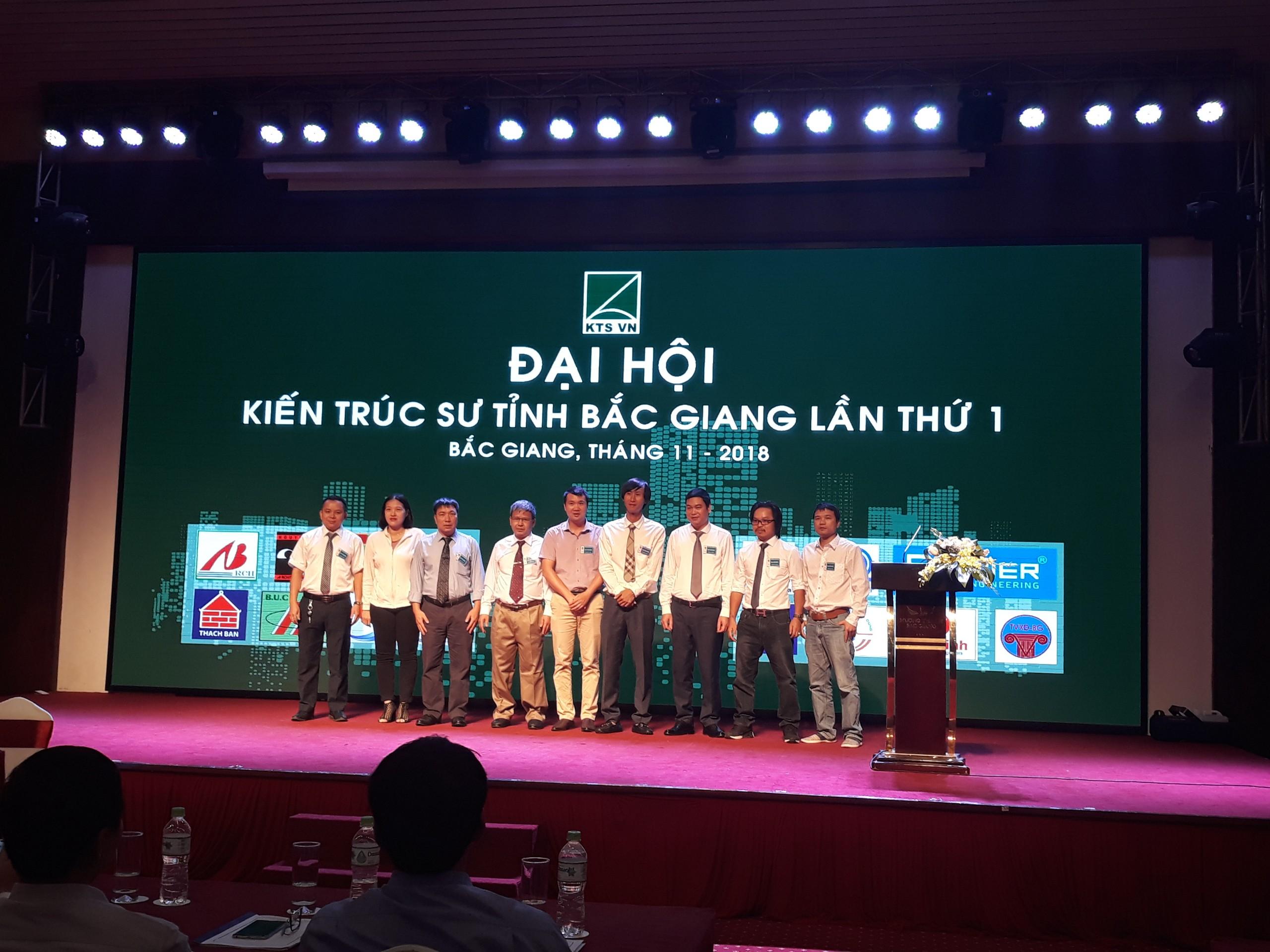 Epower tham dự Đại hội kiến trúc sư tỉnh Bắc Giang Lần thứ 1