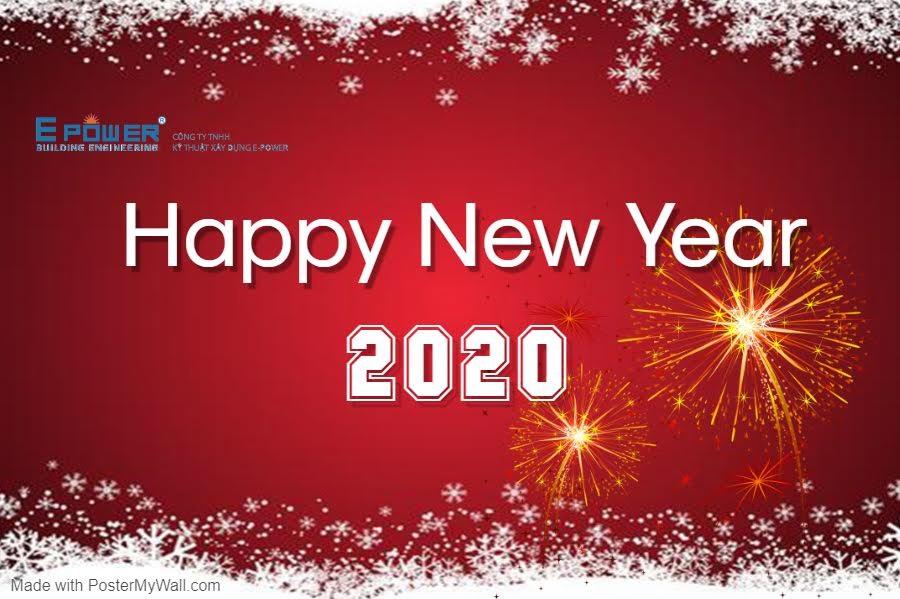 Thư  cảm ơn và Chúc Mừng Năm Mới 2020