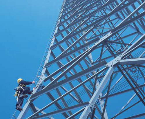 Hệ thống chống trượt ngã cho Viễn thông và Điện lực