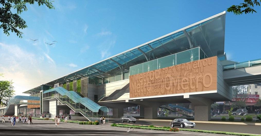 Dự án nhà ga Nhổn Hà Nội