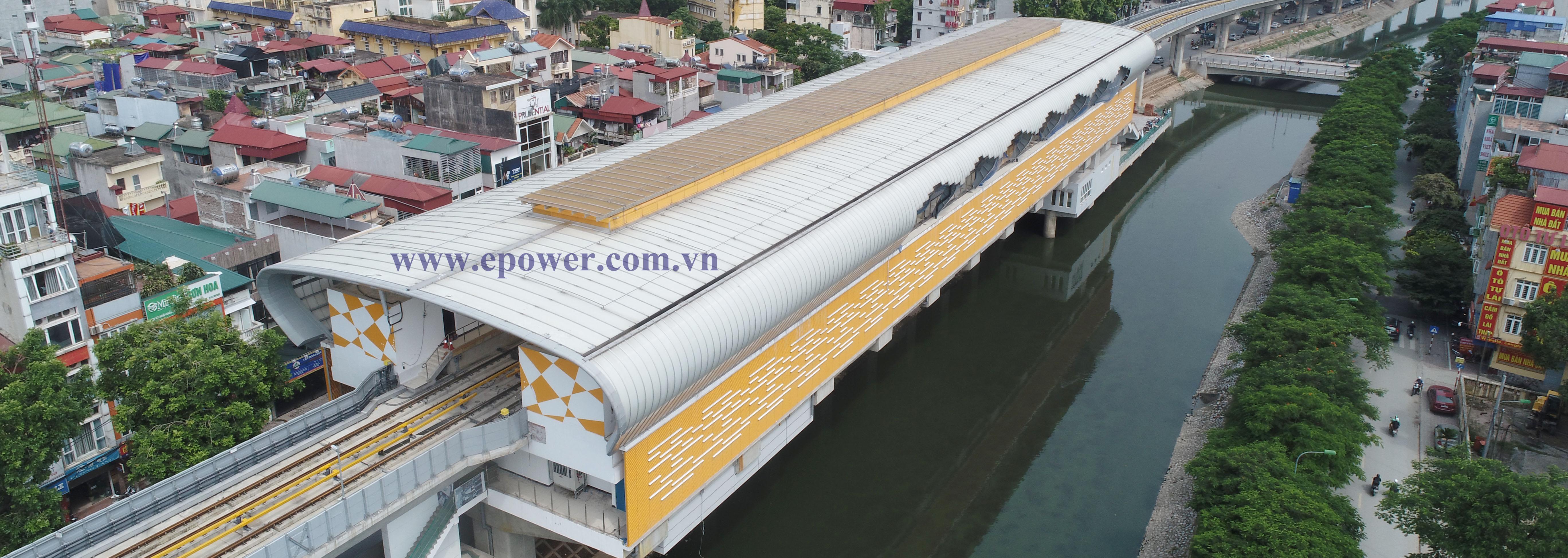 Dự án tuyến đường sắt trên cao Cát Linh - Hà Đông